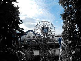 The Funwheel in Blue by bowencormac