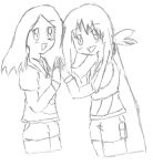 .: Emiko and Kelly Friends :. by Satoshisgirl