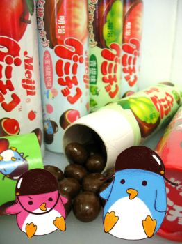 Chocolate coated penguin by kickass-peanut