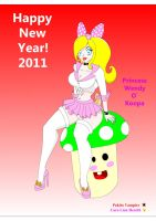 Koopy New Year 2011 by vampirefoxys