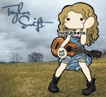Taylor Swift Guitar by NickyToons