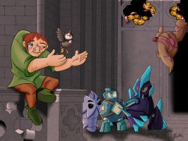 Quasimodo and friends by VibaFleischer