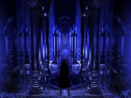 Gothic Blue by Yang-tze
