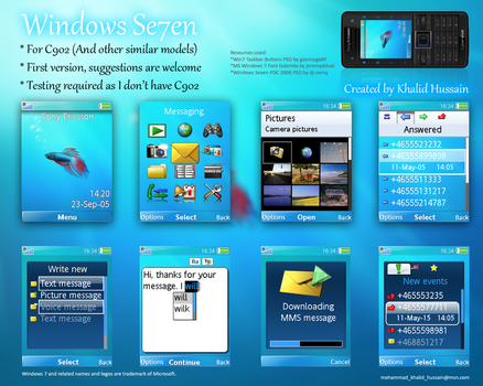 Windows Se7en for C902 by mohammad-khalid