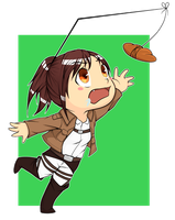 Sasha - Attack on Titan by Weepinbelly