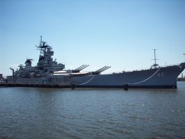 Battleship New Jersey by omega856