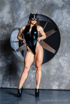 Catwoman's Quads and Gams Show with Alena by LegsEmporium
