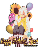 Happy Birthday, Clear! by Uchiwa208