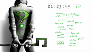 The Riddler Desktop by noistalgic