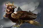 Her Majesty- Queen of Eagles by Deviant-Soulmates