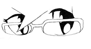glasses by dastrax64