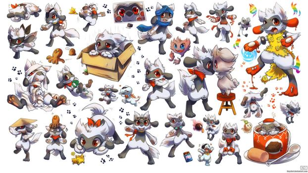 Leon the Riolu Super Dump by Haychel
