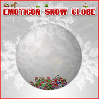 emoticon snow globe pr. -end- by dutchie17