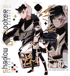 [CLOSED TY! OTA!]ShadowBooker Code15_Black GOLD by Skf-Adopt