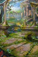 Temple Garden by dinmoney
