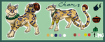 Spiritguardian Ocelot adoption (open) by Shizuri-chan