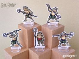 Bog Beasts 28mm RPG Miniatures by Pasiphilo