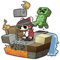 Minecraft by baidoku