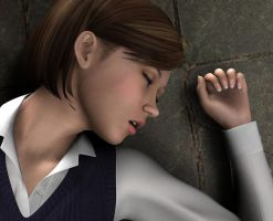 Young Amanda - Short Story Writing Competition by Torqual3D