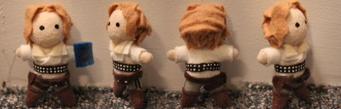 Tiny River Song Plushie by snappop