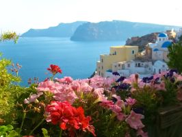 Vibrant Greek Summer by samnouvelle