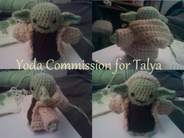 Yoda Amigurumi by CreationsbyJolie