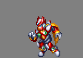 MMX9/MMZ/ZX Style Zero Dash ( Improved ). by MegaManGamer123