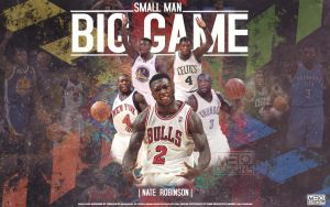 Small.Man-Big.Game-NATE ROBINSON by carmelosidd