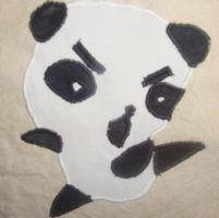 Panda Is Angry by Lavinark