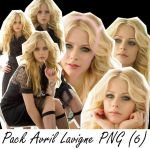 Avril Lavigne Pack PNG 1 by Pauchi31