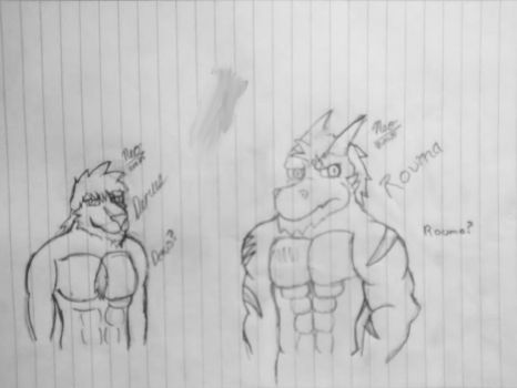 .:Personal:. Re-designs of Rouma and Derus by Neofactory02