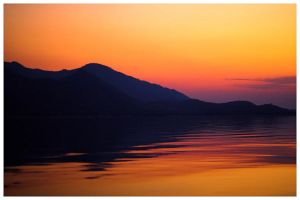 Kariba Sunset by bupo
