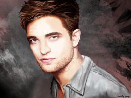 R. Pattinson by SPRSPRsDigitalArt