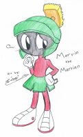 Marvin the Martian by Sitinuramjah