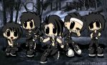[Fan Art] Black Veil Brides by critterd3light