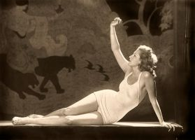 Vintage Stock - Ziegfeld Girl5 by Hello-Tuesday