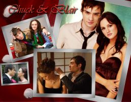.:Chuck And Blair:. by IchigoLovesInoue