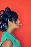 rollers, curlers, cigarettes.. by mmagni
