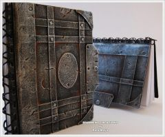 Postapocalyptic Scrapbooks by Diarment