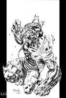 Marvel Heroes Hulk by Fpeniche