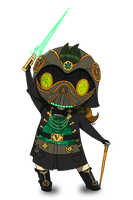 Chibi Lady Vadore by scowlingelf