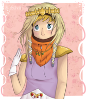 Princess Kenny by saeshells