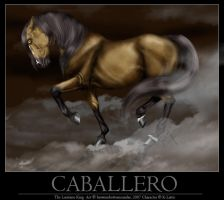 Caballero, The Lusitano King by BrownieBottomSundae