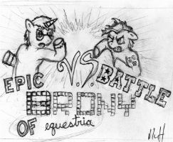 Epic Brony Battle of Equestria by Fundz64