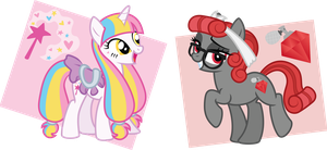 random pony adoptables auction by ivyshire