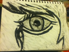 The Crying Eye by punkgirl73mw