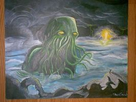 Cthulhu Storms by Van-Klaunch