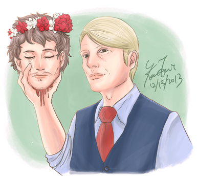 Collab - Hannibal - I got your head by FuriarossaAndMimma