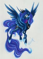 Princess Luna by Creeate97