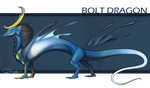 Dragon Cave: Bolt Dragon by birdzgoboom